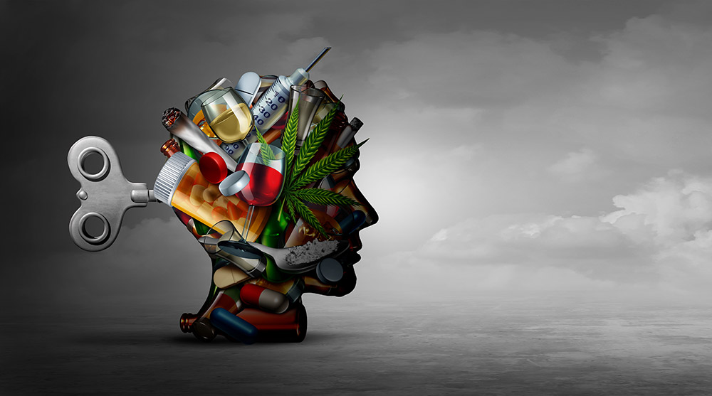 drug addiction image