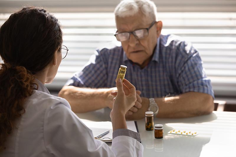a man being prescribed detox medication